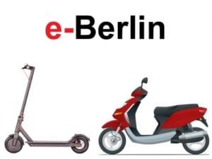 e-Scooter Berlin-Kreuzberg