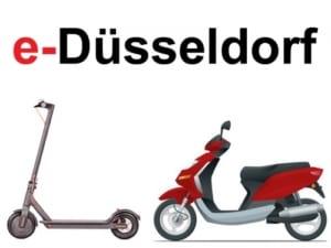 E-Scooter und Elektroroller in Düsseldorf kaufen und mieten