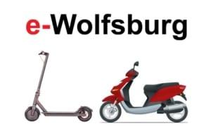 E-Scooter in Wolfsburg