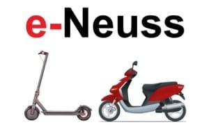 E-Scooter in Neuss kaufen und mieten