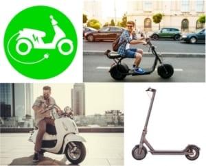E-Scooter und Elektroroller kaufen und mieten