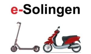 E-Scooter in Solingen