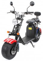 Eflux harley two e-scooter zweisitzer