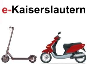 e-Scooter in Kaiserslautern kaufen und mieten