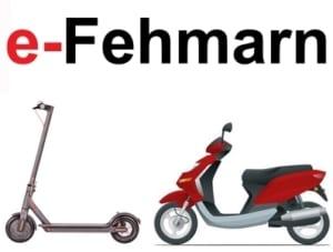 e-Scooter in Fehmarn kaufen und mieten