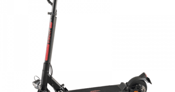 'Bewegt' e-Scooter 'Mit Komfort'