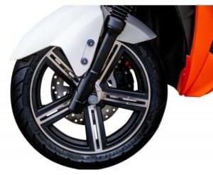 e-scooter-kaufen-falcon futura vorderrad bremse
