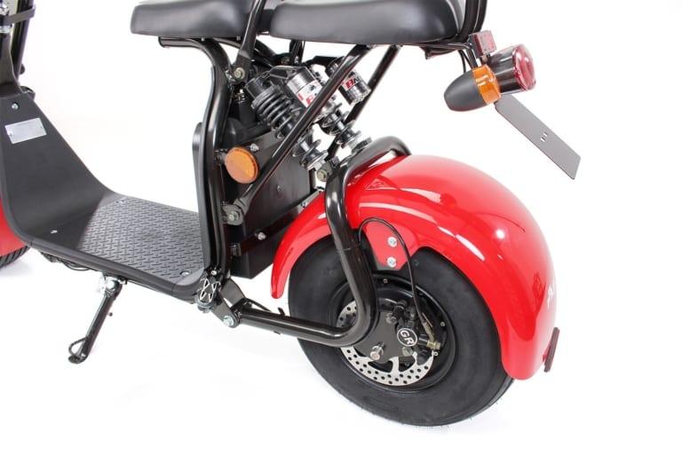 eflux chopper two escooter hinterrad