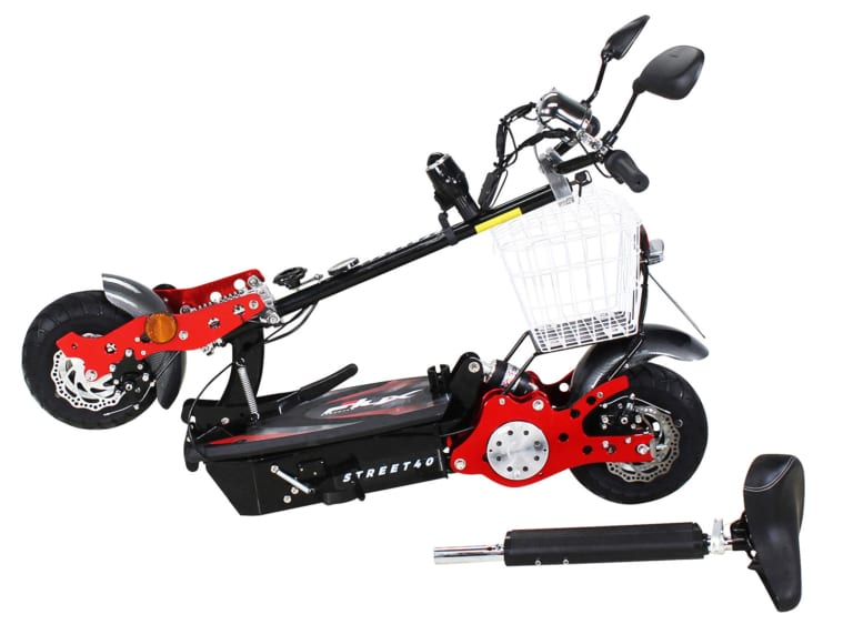 eflux street 40 klappbar escooter