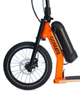 gomate vorderrad escooter