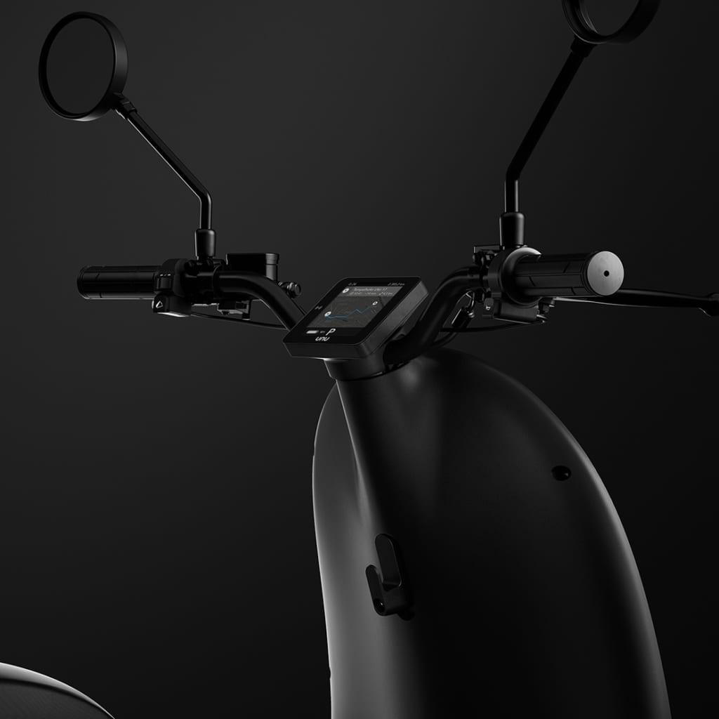 unu scooter lenker