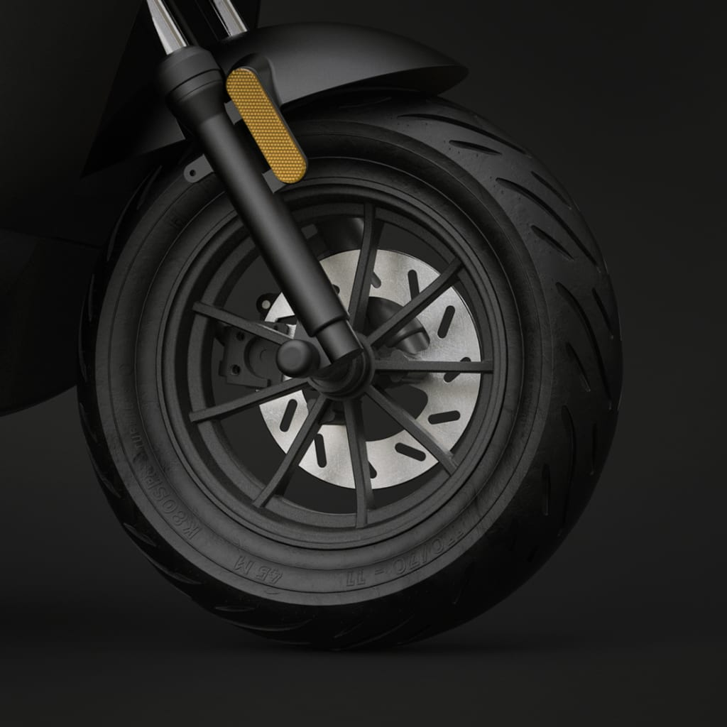 unu scooter vorderrad