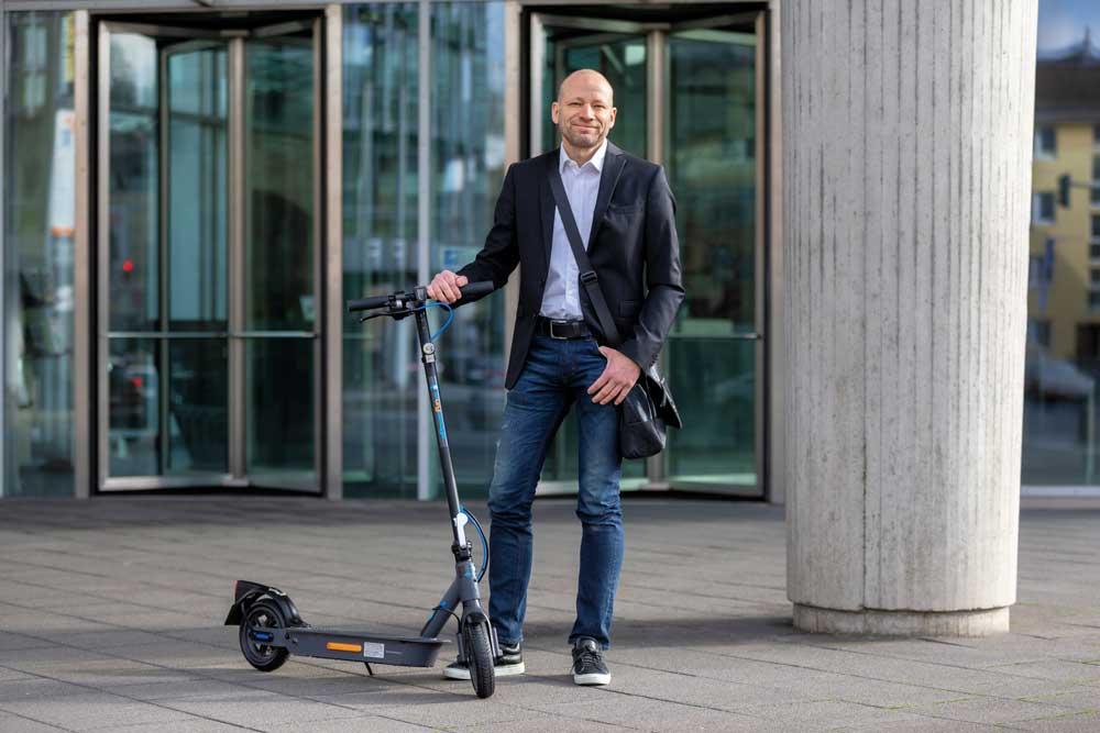 Stefan Köhler, der Entwickler des ePF1 ePowerFun
