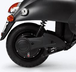 unu scooter classic hinterrad