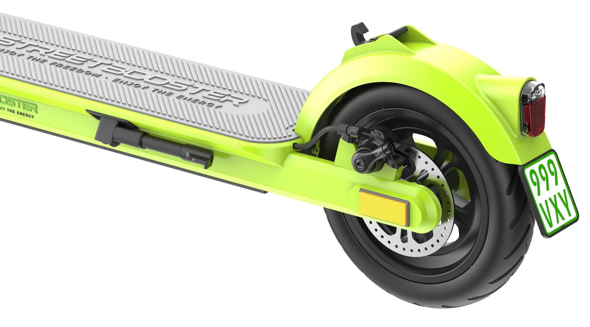 streetbooster-one hinterrad bremse