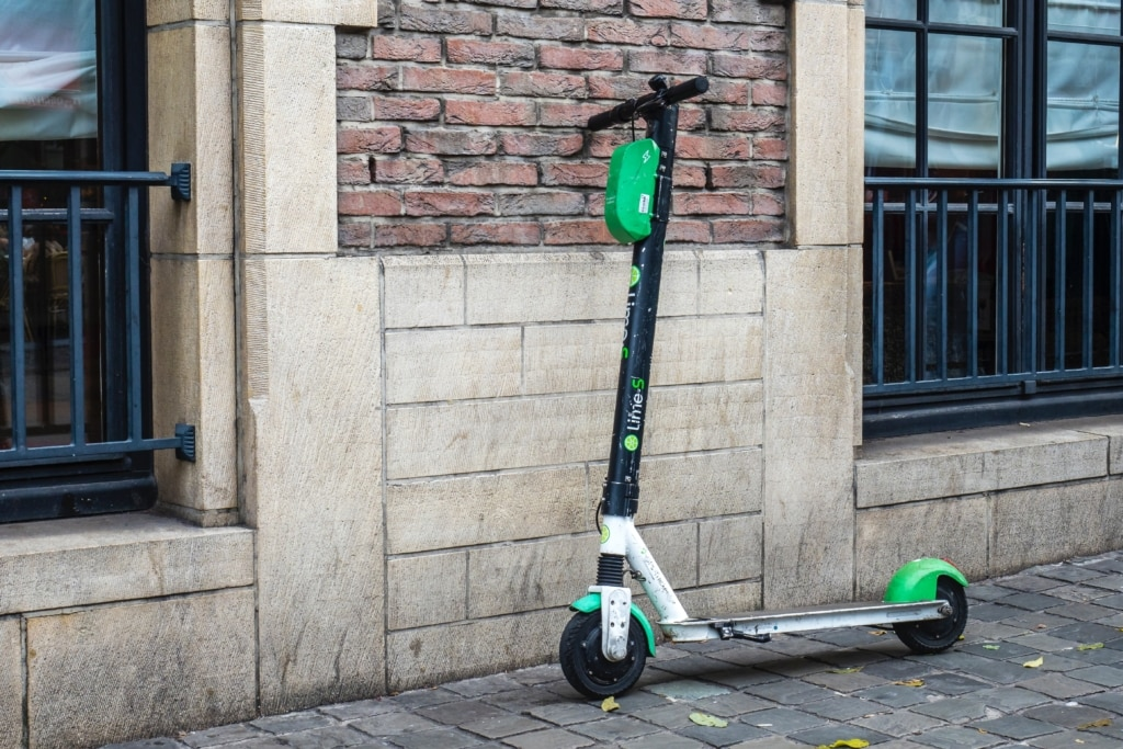 E-Scooter Lime