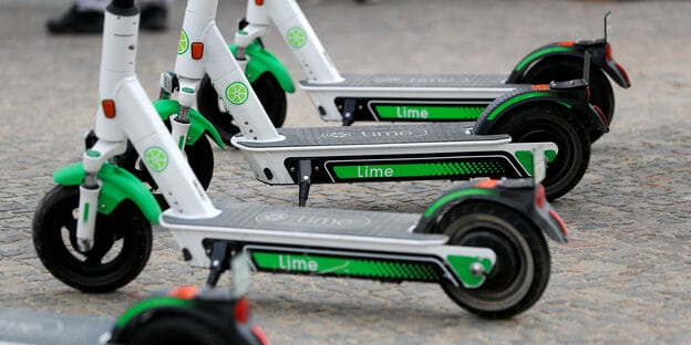 Lime Escooter gebraucht
