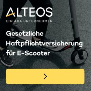 escooter versicherung