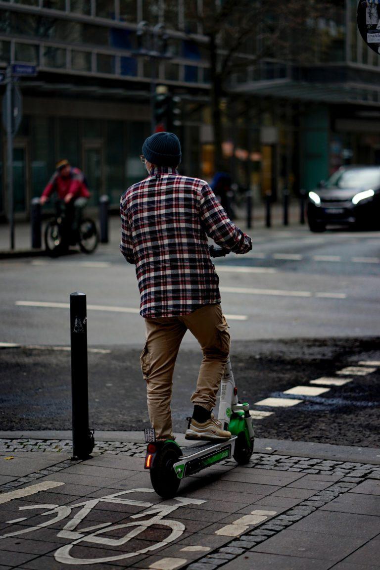 e-scooter Straßenverkehr
