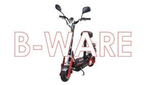 e.scooter mit Sitz b-ware