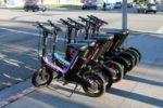 e-scooter mit Sitz vs Fahrrad