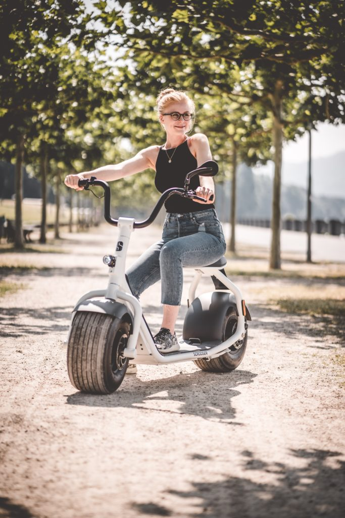 e-scooter mit sitz vs Mofa