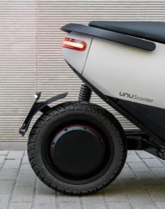 UNU Roller Hinterrad Stoßdämpfer