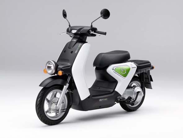 © Honda Elektroroller vs Suzuki, Piaggio