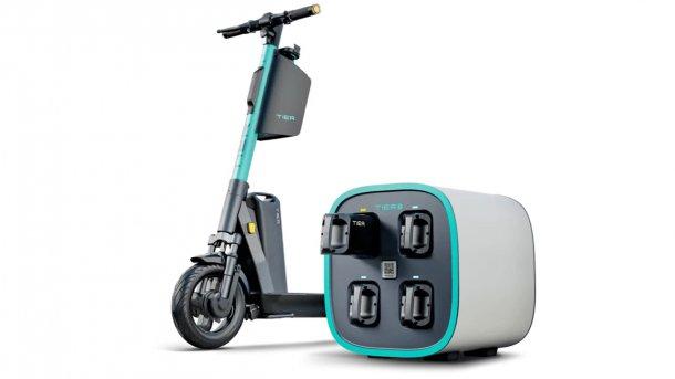 tier ladestation für e scooter
